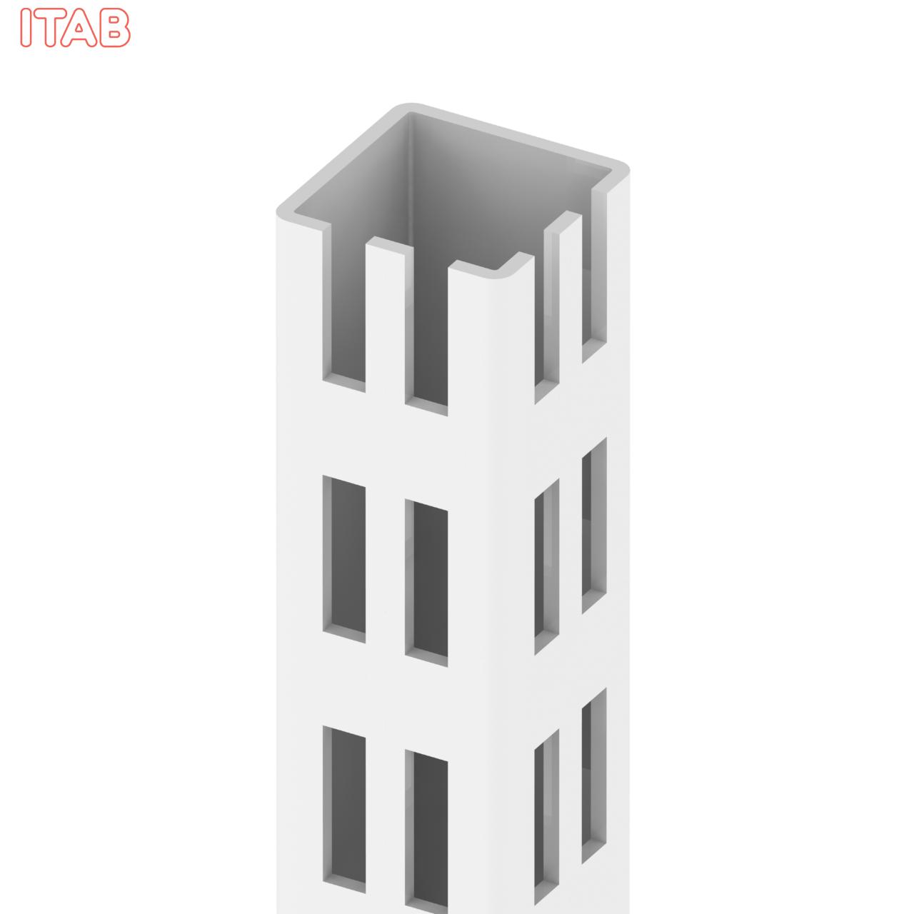 Kulmasäätöputki + Tallat 30x30x210