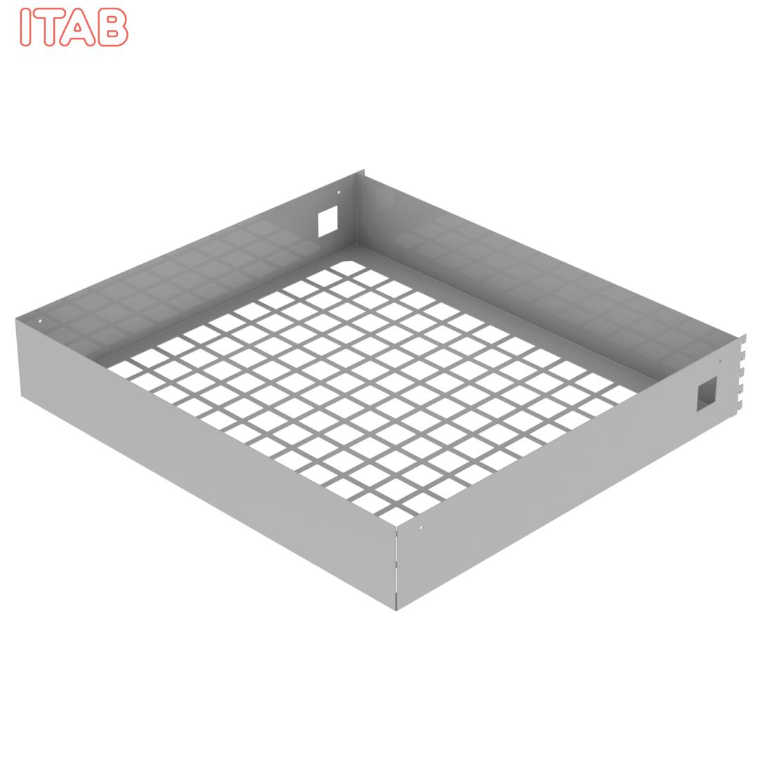 Valaisinritilä moduliin 90x80x15