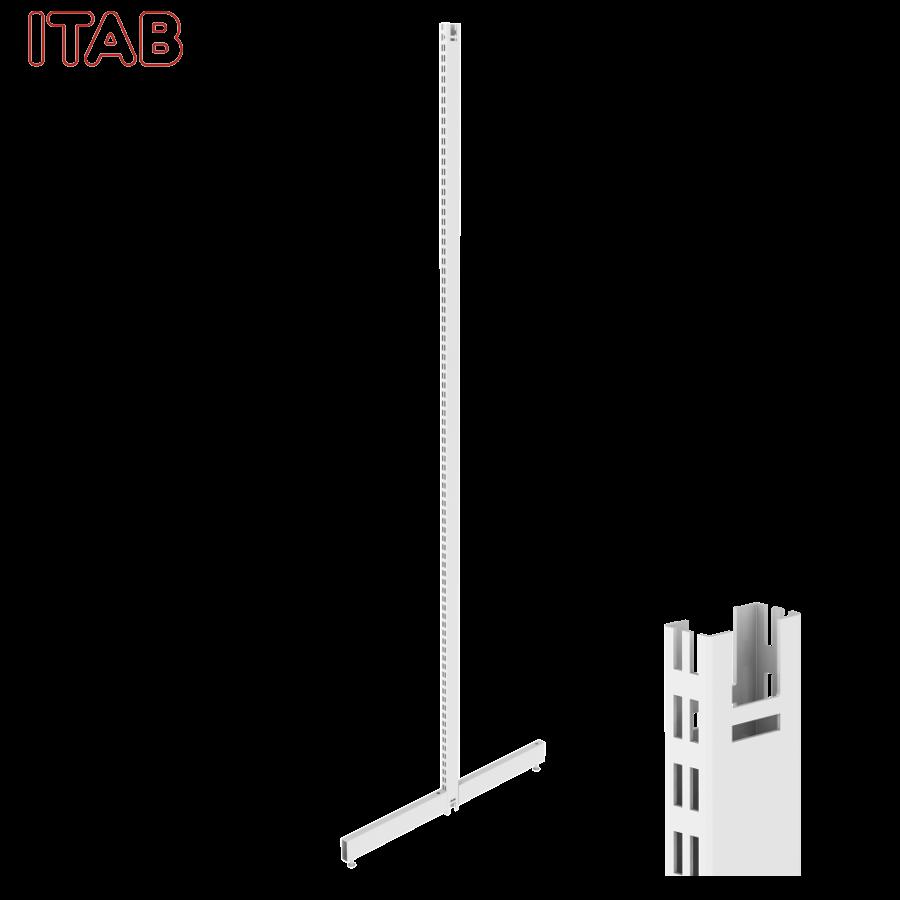 PS-T-Jalka 280x50/50+Kiinn. Sarja 30x480/480x2800