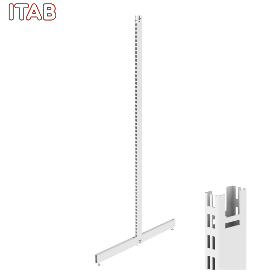 PS-T-Jalka 210x50/50+Kiinn. Sarja 30x480/480x2096