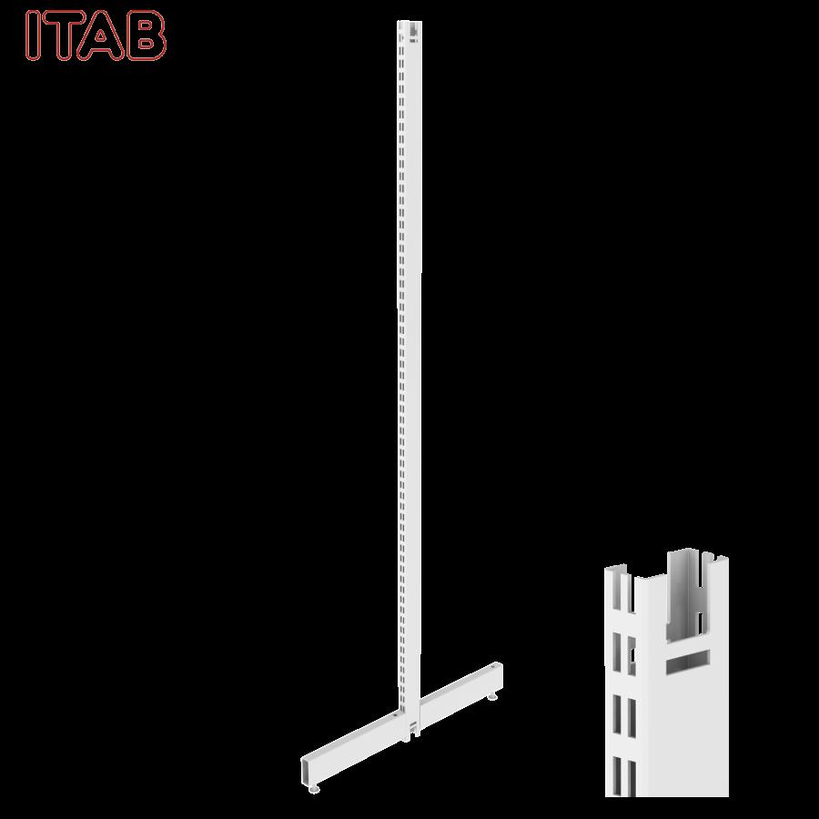 PS-T-Jalka 210x40/40+Kiinn. Sarja 30x380/380x2096