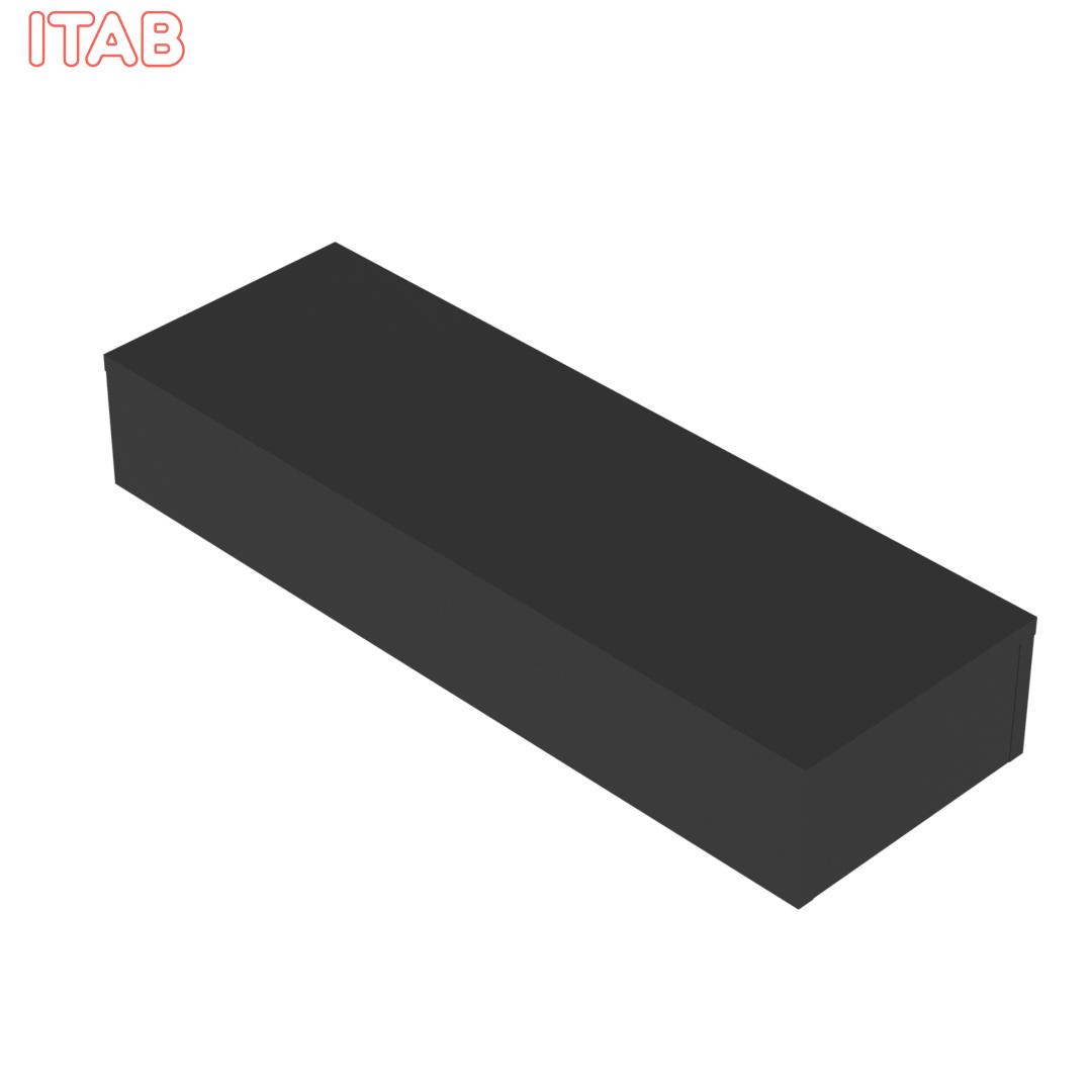 Podium Musta 120x40x20