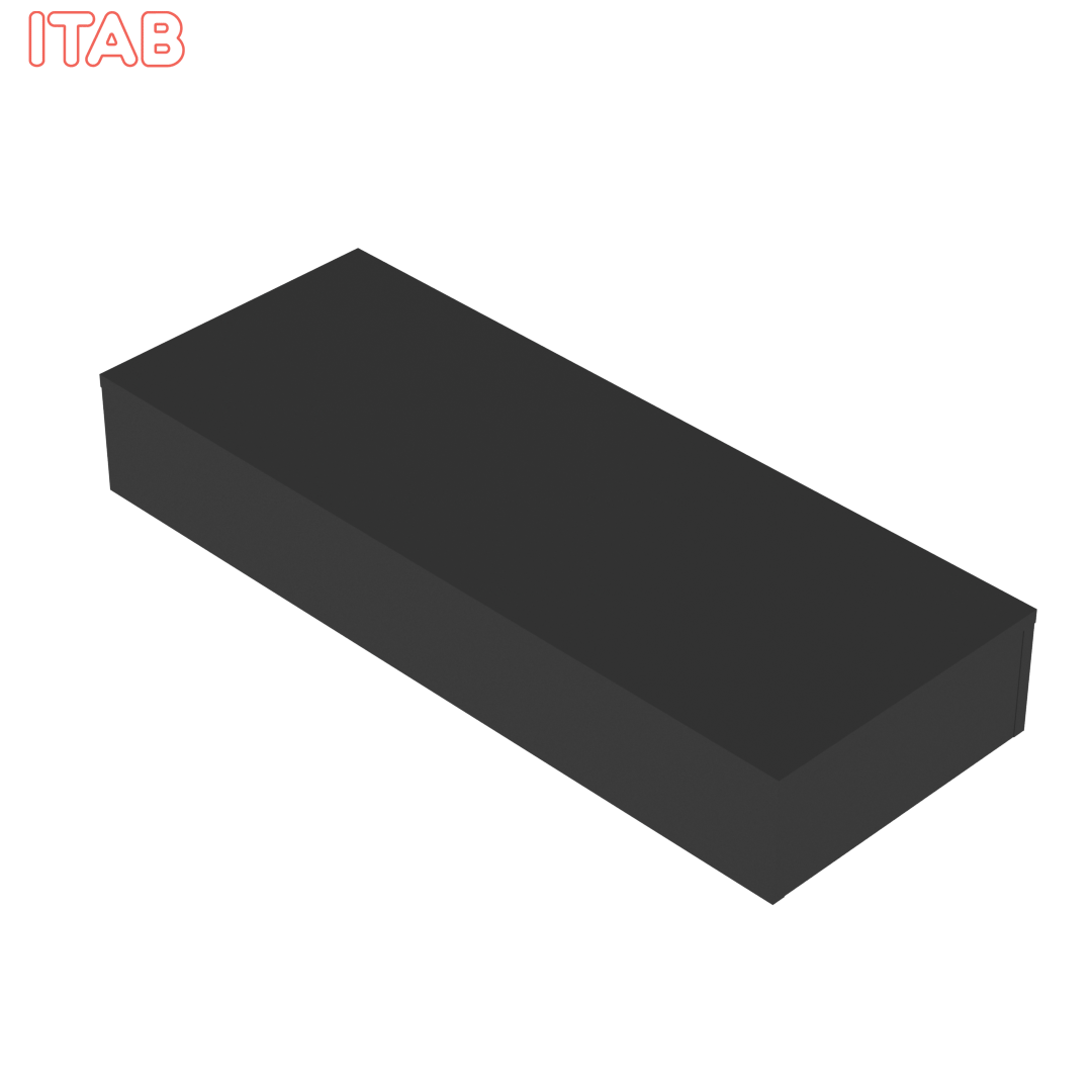 Podium Musta 130x50x20