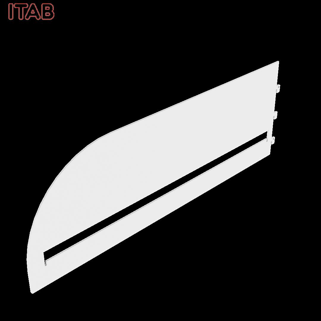 Kaarikannatin Teräshyllylle 60cm