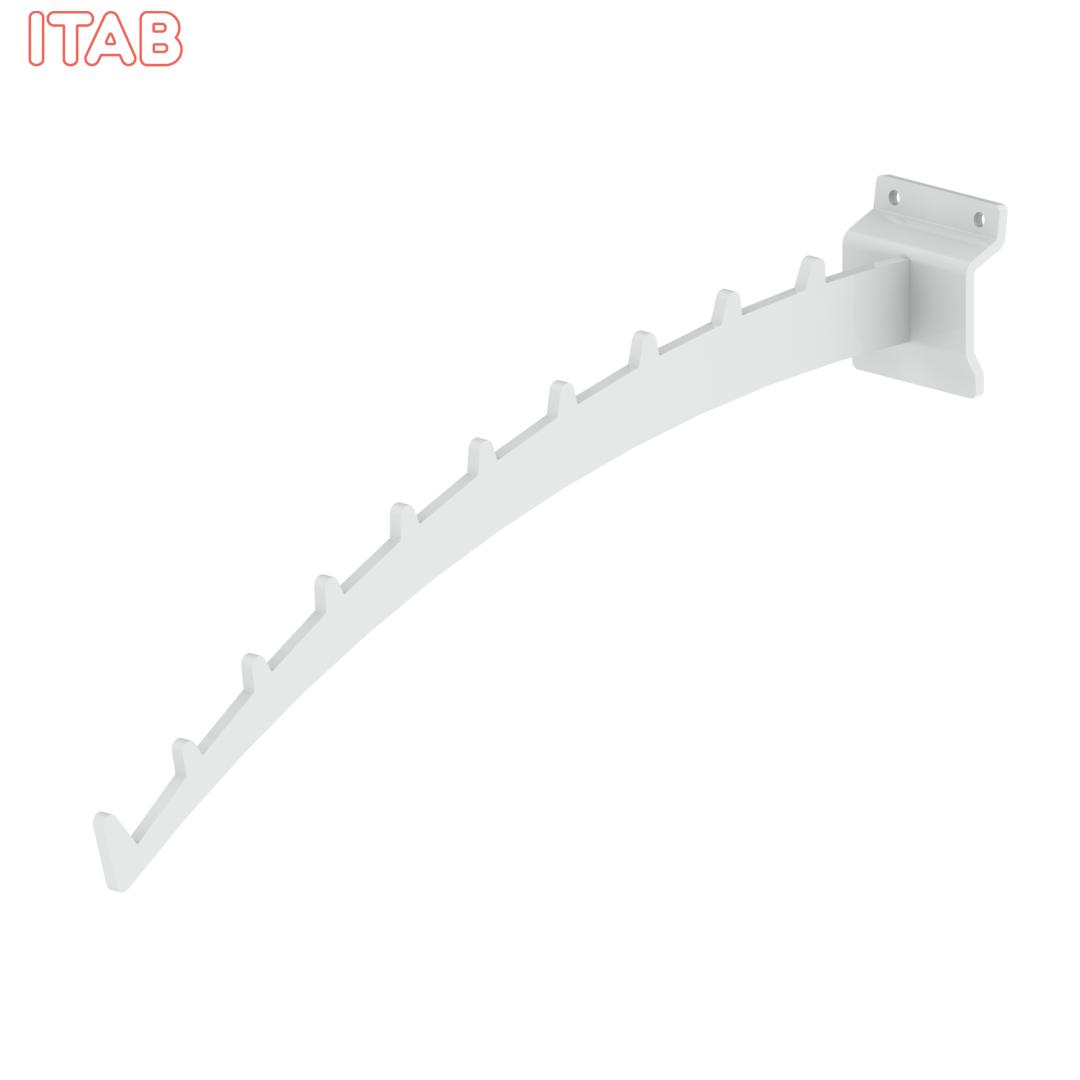 Kaareva Esittelykannatin Zolo 30cm