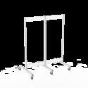 Gondola runko 2x60 pyörillä