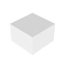 Podium Valkoinen 60x60x40