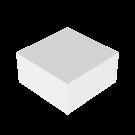Podium Valkoinen 60x60x30