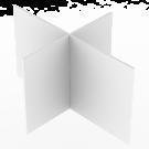 Jakajaristikko Massakoriin 120x90x62