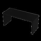 Tasopöytä musta 115x45x50