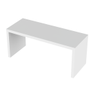 Tasopöytä valkoinen 115x45x50