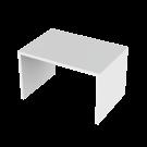 Tasopöytä valkoinen 130x90x80
