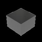 Podium Musta kiiltävä 60x60x40