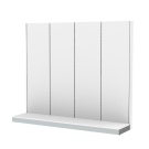 Seinä PS-L 4x H210 L60 D50