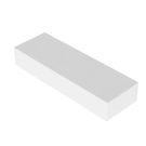 Podium Valkoinen 120x40x20