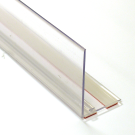 Muovireuna teippikiinnityksellä L90 H4