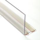 Muovireuna teippikiinnityksellä L60 H4