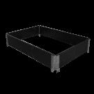 Lavakaulus 1200x800x200, musta