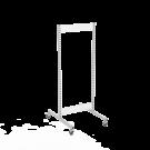 Gondola runko 1x60 pyörillä