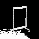 Gondola runko 1x90 pyörillä